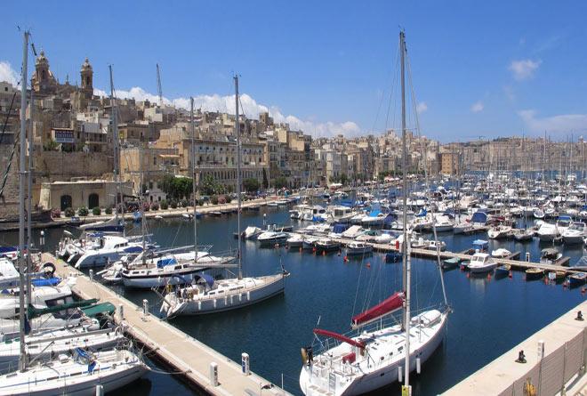 Бухта на Мальте