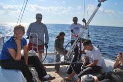 14 дней.  обучение яхтингу